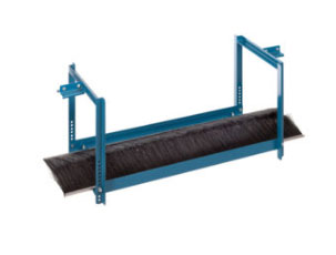 Mighty Lube Overspray eliminator brush for conveyors